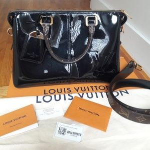 Louis Vuitton Miror Noir Black Mirror Handbag
